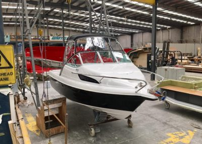 Bimini Top with Front and Side Clears