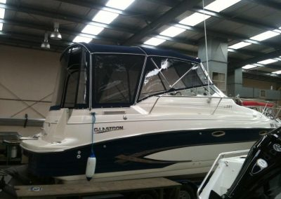 Bimini, Front and Side Clears with Camper
